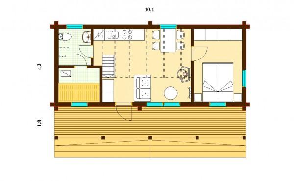 Дом Аура 84