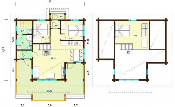 План дома Гармония 115