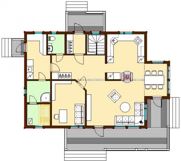 Дом Мирелла 230