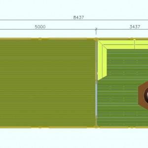 Летняя кухня 33 план