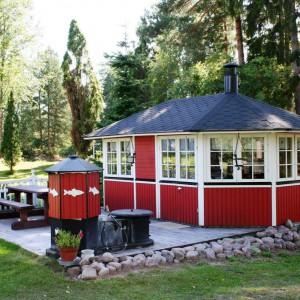 Летняя кухня - гриль беседка с барбекю Вилла Альбатрос 15