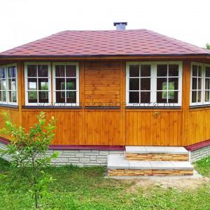 Летняя кухня с мангалом Villa Albatros 15