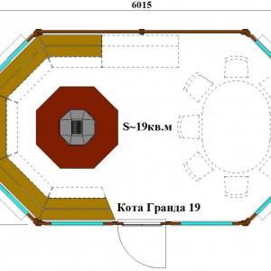Гриль домик Кота Гранда 19