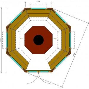 План гриль-домика Кота Панорама 11