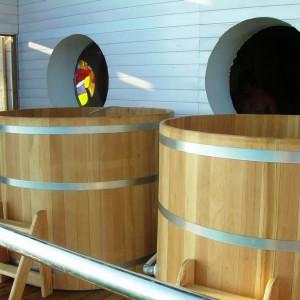 Купель деревянная из сосны