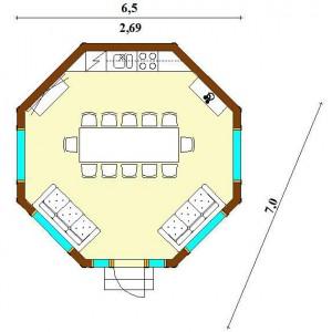 Дом Монплезир 35 схема