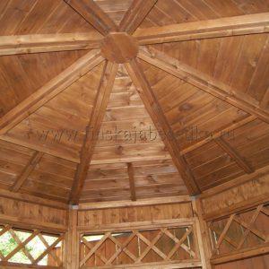 Потолок летней беседки