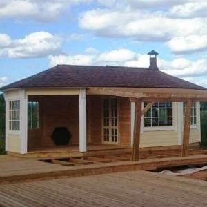 Грильный домик Гранд 24 открытый