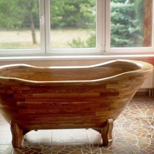 Детская ванна из дерева